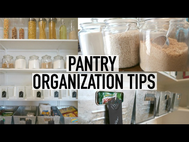 PANTRY ORGANIZATION TOUR | 10 TIPS FOR AN ORGANIZED PANTRY | ORGANIZE WITH ME