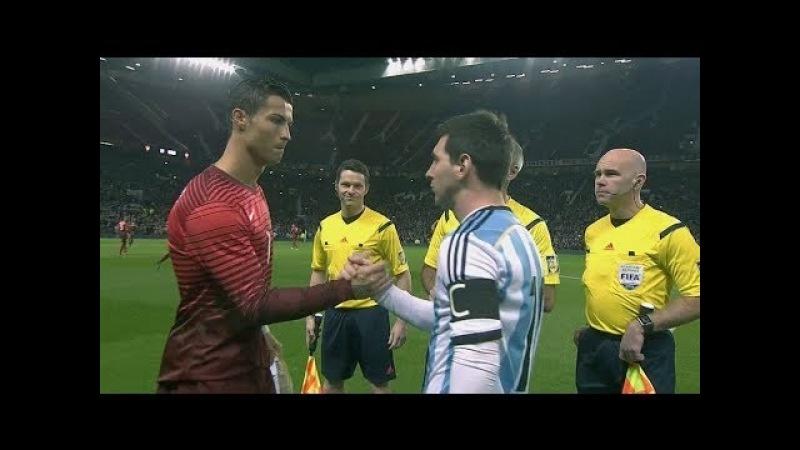 Cristiano Ronaldo vs Argentina (Friendly) 14-15 HD 1080i