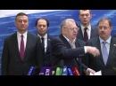 Грудинин реагирует на заявление Жириновского об убийствах