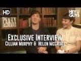 Cillian Murphy &amp Helen McCrory Interview - Peaky Blinders Season 2 (HD)