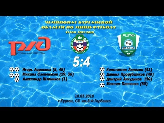 ЧКО 17-18 10.03 Железнодорожник - РЦПФ ДЮСШ-3 2001