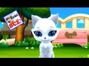 Kitty Love My Dream Pet Kid's catoon song Nashe vse