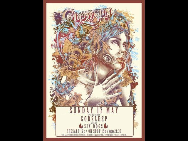 Glowsun - (complete show) @SIX d.o.g.s, Athens 17/05/2015