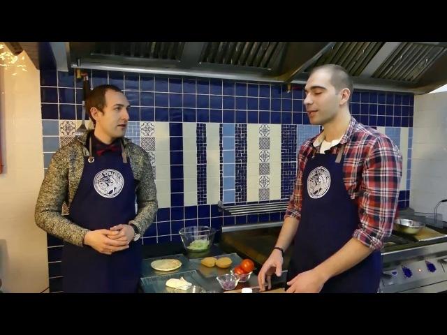 Рецепты от шефа с Георгием Сегалом 1 выпуск ресторан Грик Сувлаки