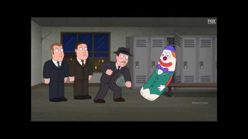 Гриффины Бобо надувной клоун для битья Приколы гриффины