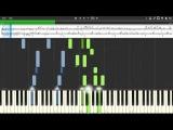 Yoko Kanno Piano Bar Cowboy Bebop SynthesiaMidi