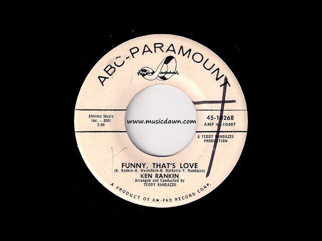 Ken Rankin - Funny, That's Love [ABC-Paramount] 1961 Teen Oldies 45