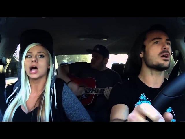 Очень класно поют в машине под гитару