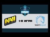 NaVi vs Liquid #1 (bo3)   ESL One Genting, 24.01.18