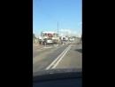 Авария на мосту в Юбилейном.