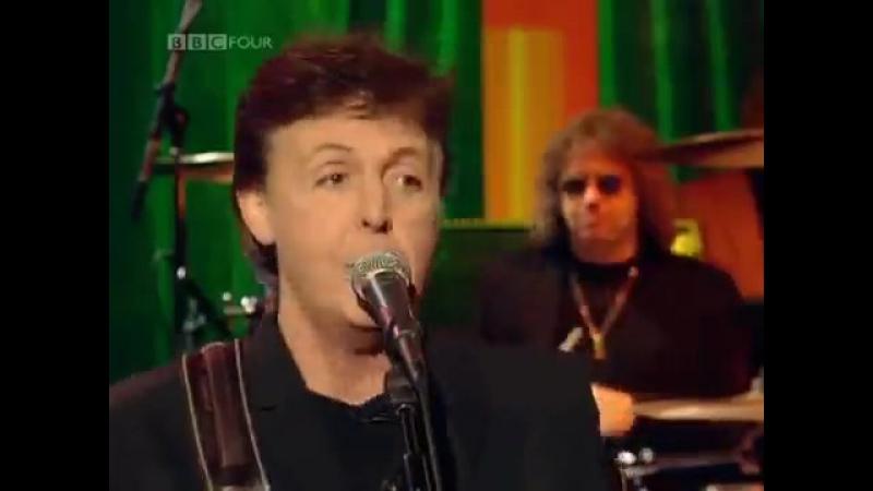 Paul McCARTNEYDavid GILMOUR(ex.PINK FLOYD) - All Shook Up(cover Elvis PRESLEY)...1999