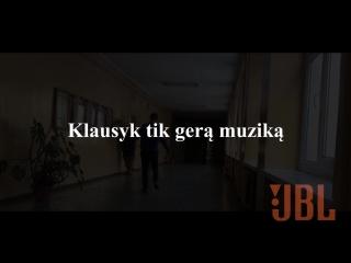 Реклама JBL колонки | Reklama JBL kolonėlės