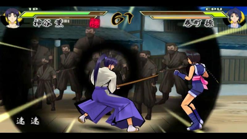 «Rurouni Kenshin: Meiji Kenkaku Romantan Saisen» [PSP] [Full Playthrough] EP 08