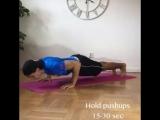 Домашняя тренировка грудных мышц