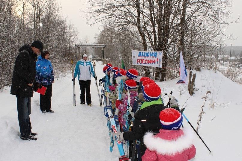Заозерские дошкольники - участники Лыжни России в Прионежье!