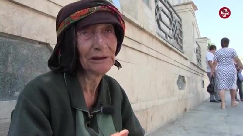 """Şəhid anası_ Polislər məni """"dubinka""""nın altına saldılar"""