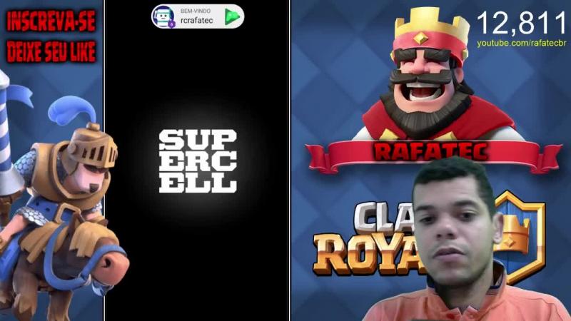 Clash Royale » batalhando com ajuda dos inscritos no Domingão!