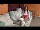 Школьница в белых носочках твёркает Ticklish Schoolgirl Chi Chi Medina