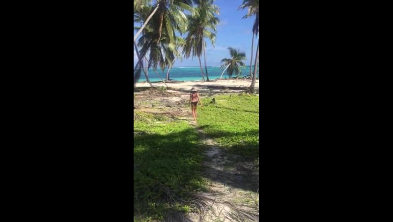Иду на дикий пляж в Доминикане. Пунта-Кана ..
