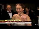 Jennifer Lawrence starstruck by Jack Nicholson