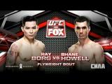 UFC Fight Night Ray Borg vs Shane Howell