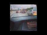 Москва с утра. Едем по делам в новом BMW