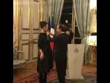 Моника Белуччи получает награду