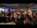 El Atlético celebra su comida de Navidad