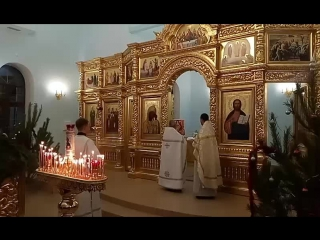 Сейчас в STR. Открытие храма Иоанна Предтечи и первое рождественское богослужение
