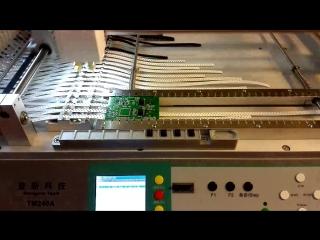 Фрагмент сборки PC Lighting controller 1024