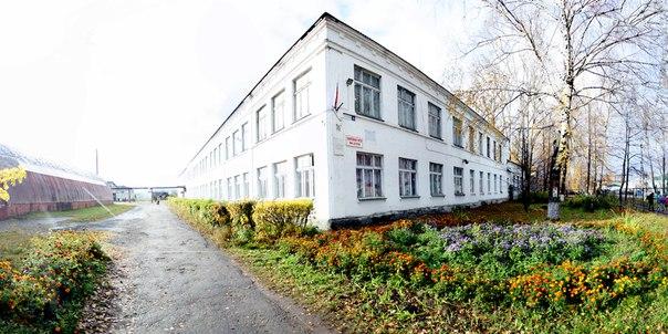 Перспективный вид на первую школу.  Город цветов, чёрт побери.  Зимняя версия: https://vk.com/photo16174219_456260200  14 ноября 2017