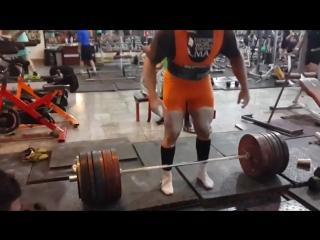 Пейман Махери - тяга 410 кг в однослое