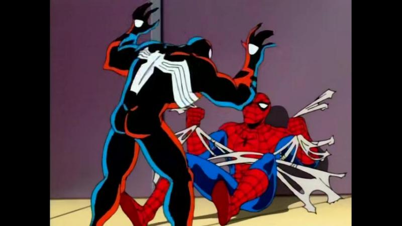 Человек-Паук / Spider-Man: 3.10 The Animated Series Возвращение Смертоносца / Venom Returns