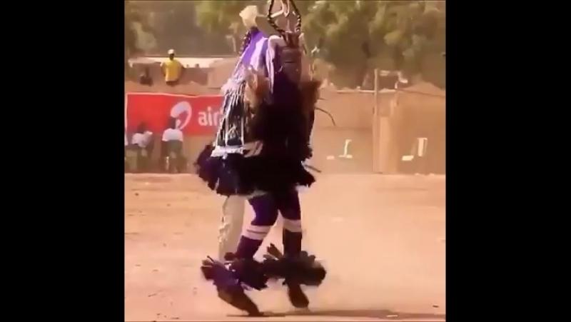 Танец Вуду (самим так танцевать нереально)