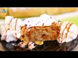 Десерты • АВСТРИЙСКИЙ ЯБЛОЧНЫЙ ШТРУДЕЛЬ / Apfelstrudel - ну, оОчень вкусный!
