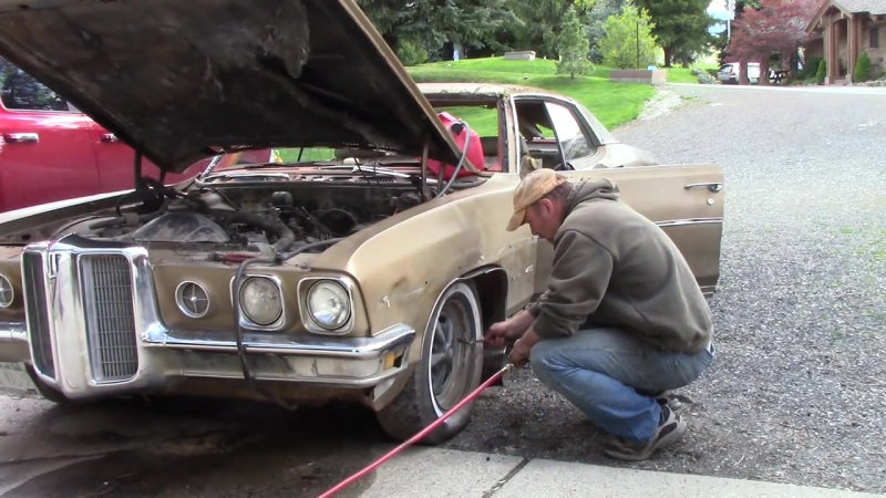 70 Pontiac SITS 31 YEARS! - will it START؟؟؟