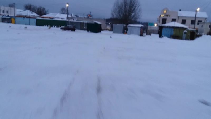 Снегоход из мотосамоката