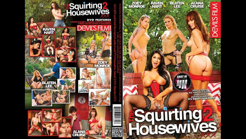 #PRon The Squirting Housewives 2 [2017 г., All Sex Cougars Couples Cumshots Squirting Wives, HDRip, 1080p] Raven Hart