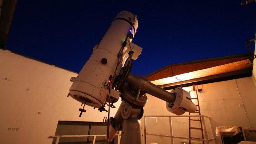 Первый роботизированный телескоп для исследования звезд и экзопланет установили в Зеленчукском районе