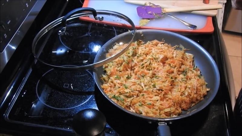 ГАРНИР или НАЧИНКА ИЗ КАПУСТЫ для Пирожков, Пирогов, Вареников. Вкусный Гарнир. Cabbage Filling