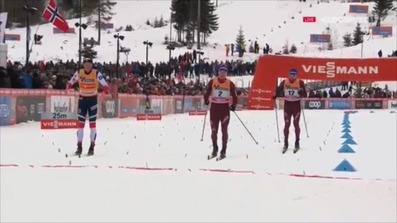 Лиллехаммер классический мужской спринт 02.12.17