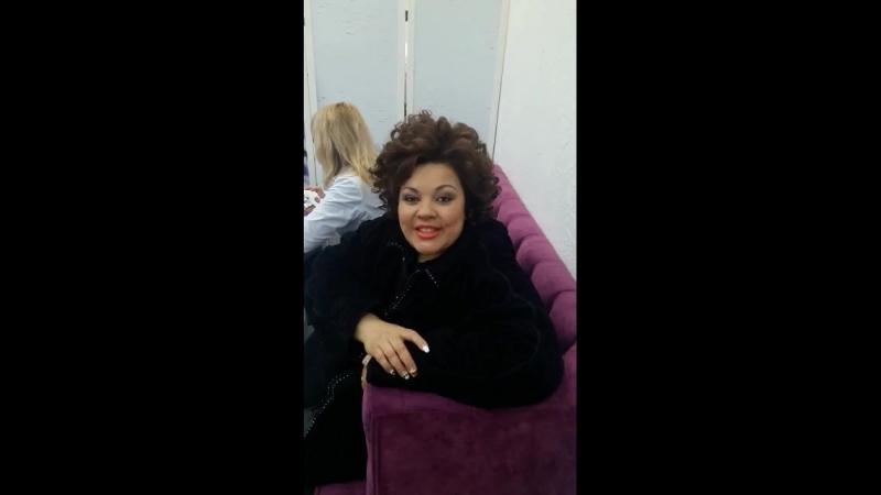 Виктория Пьер Мари в студии красоты Леры Левински
