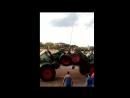 Бизон-трек Шоу 2017 поднятие флага