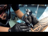 Cyborg machines (test  tattoo machine Bolivar) Krivov Sergey