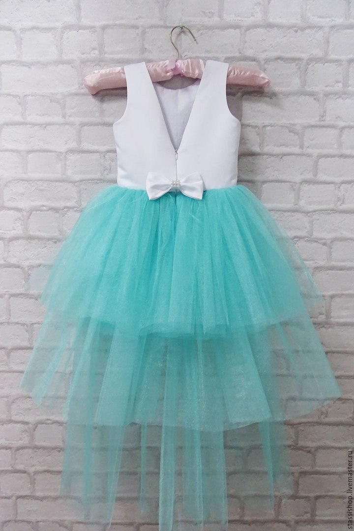 Платье для девочки с фатиновой юбкой сшить 11
