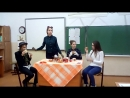 One Mad tea party late in the evening at school in classroom 20