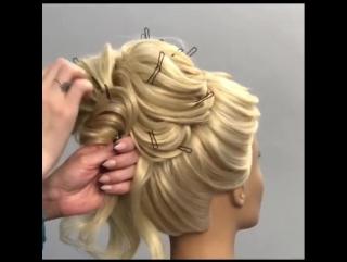 Изумительная причёска для настоящей королевы