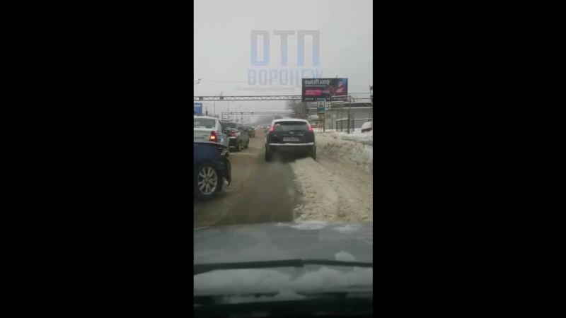 Воронеж ДТП на Антошке