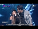 Heize feat EXO`s Чанёль РУСС САБ 151106 Unpretty Rapstar 2 лелио