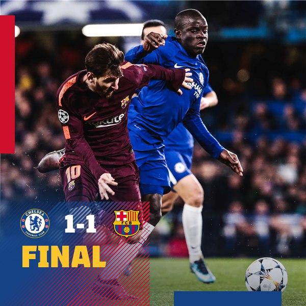 195. Chelsea FC (ENG) - FC Barcelona (ESP) 1:1
